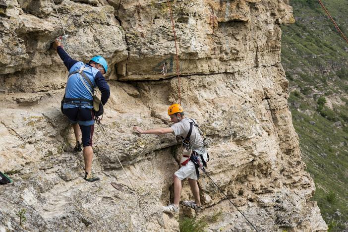 """Turism montan, escaladare și bazale alpinismului """"Verticalii"""""""