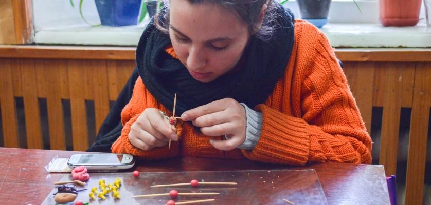 """Obiecte şi bijuterii din lut polimeric """"Creatorii"""""""
