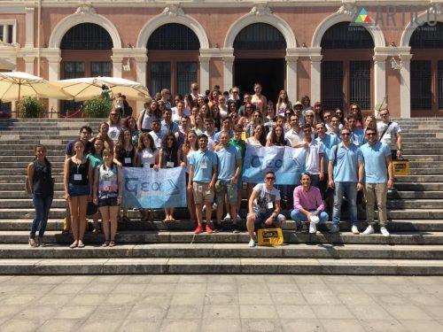 """Tinerii de la  ARTICO, în cadrul proiectului de mobilitate pentru tineri """"Traditions and Globalization"""