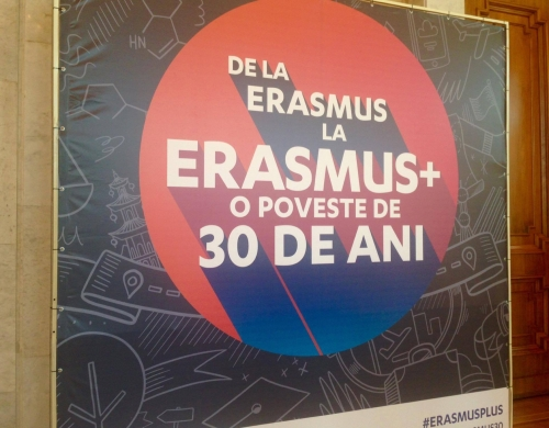 Sărbătorim 30 de ani de la fondarea programului Erasmus!