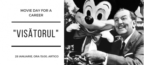 "Movie day for a career – ""Visătorul"""