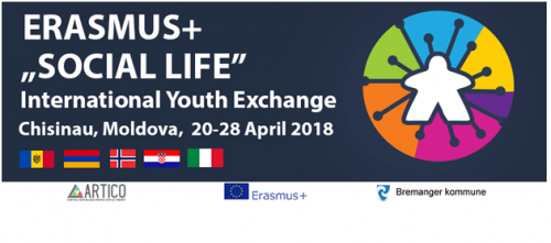 "Erasmus+ ""Social Life"" – COMUNICAT DE PRESĂ"