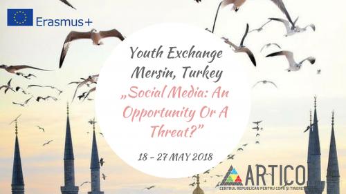 Interesat de Social Media? Profită de oportunitatea Erasmus+ din Turcia