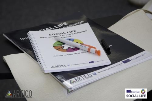 """Proietul Erasmus+ """"Social Life"""" la emisiunea Fii Tînăr"""