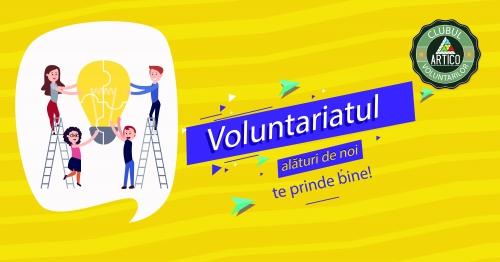 """Fii printre cei 10 voluntari norocoși aplică la proiectul  """"Fă voluntariat informat"""""""