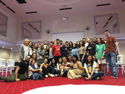 "Emoții și experiențe acumulate în training-ul course ""Sufism In Action For Youth Works"""