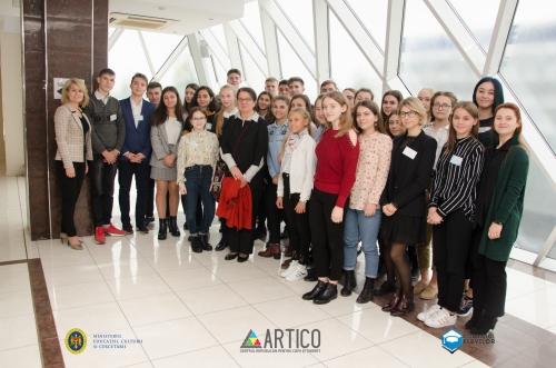 Centrul Republican pentru Copii și Tineret ARTICO a desfășurat cel de al doilea atelier CNE