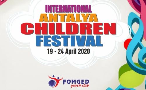 """FESTIVAL INTERNAȚIONAL Pentru Copii ANTALYA"""