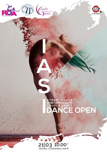 """Concurs internațional Iași """"DANCE OPEN"""""""