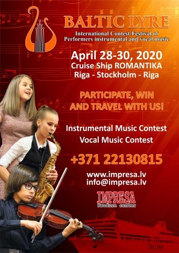 Concursul internațional-festival al interpreților de muzică instrumentală și vocală
