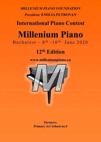 "Concurs internațional de pian ""Millenium Piano"" ed. XII"