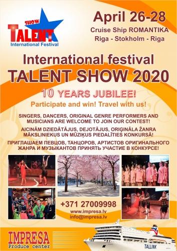 """Festivalul Internațional """"TALENT SHOW"""" ediția 10"""