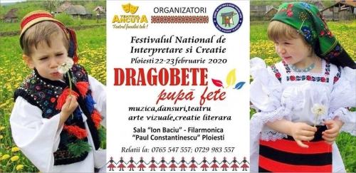 """Festivalul Concurs """"DRAGOBETE PUPA FETE"""""""