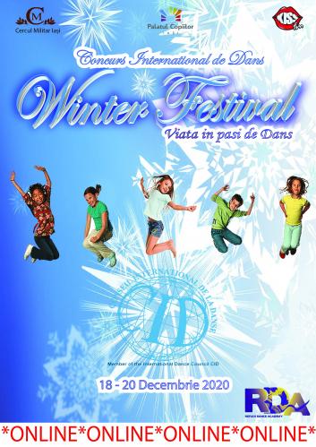 """Concurs Internațional de Dans """"WINTER FESTIVAL"""""""